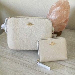 Coach Mini Camera Bag And Wallet